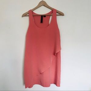 {Petticoat Alley} Coral Racerback Dress / S